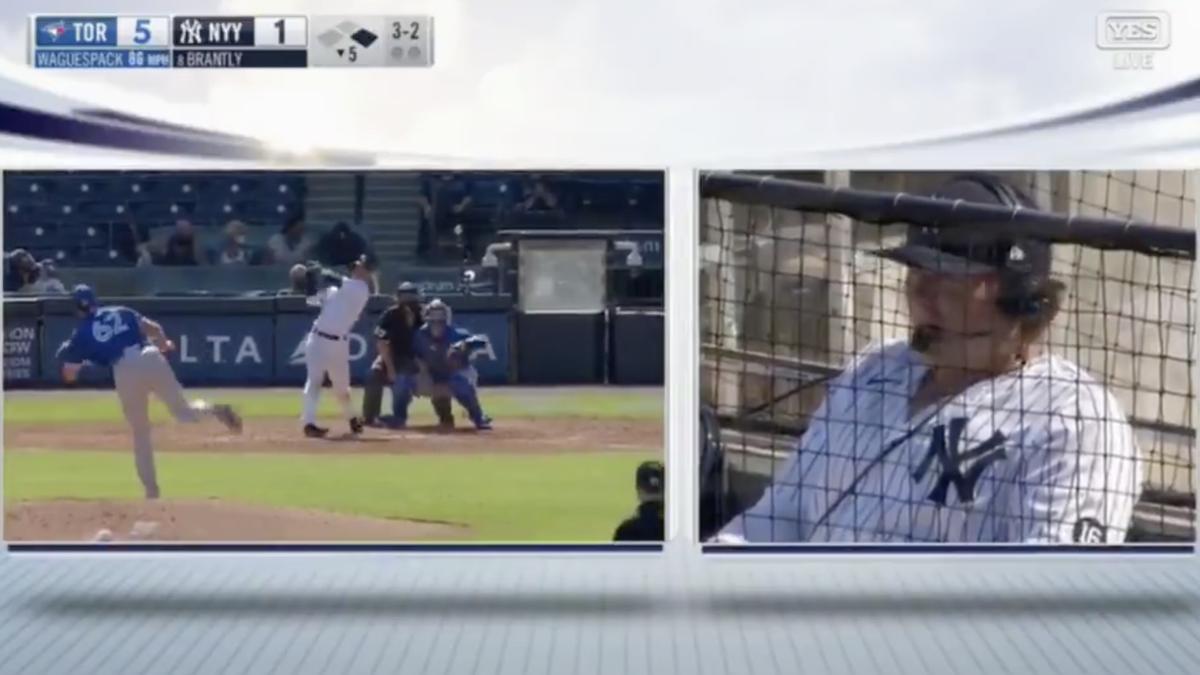 Yankees first baseman Luke Voit continues MLB's hot mic winning streak - Deadspin