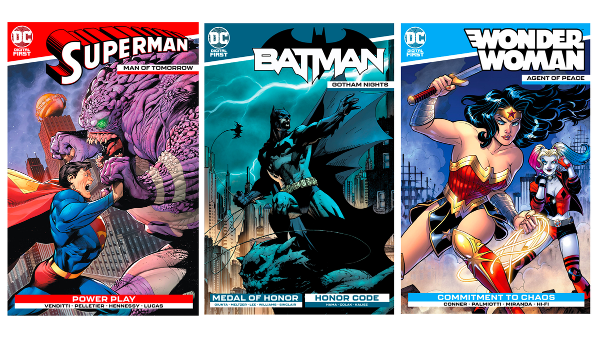 DC's Latest Effort to Keep Comics Interest Alive Is Upcycled Digital Titles