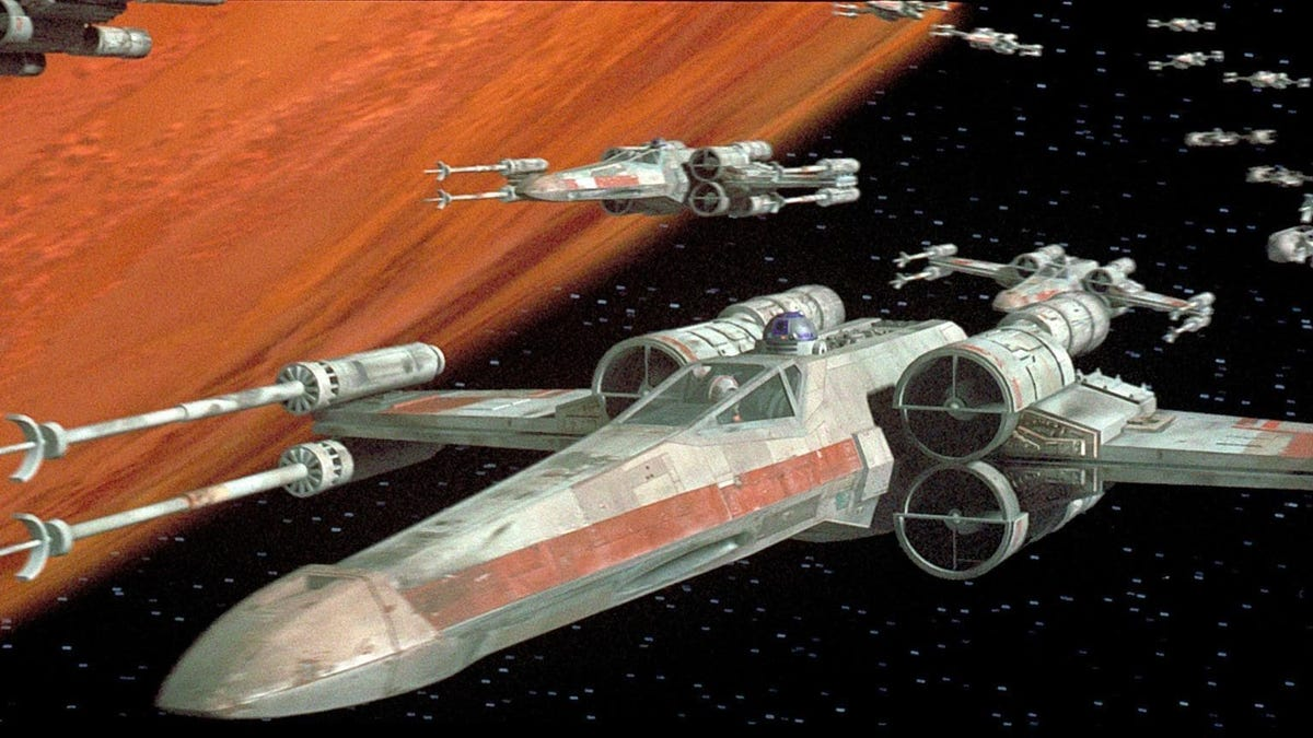 The Best Top Gun Video of the Week Features X-Wing Fighters