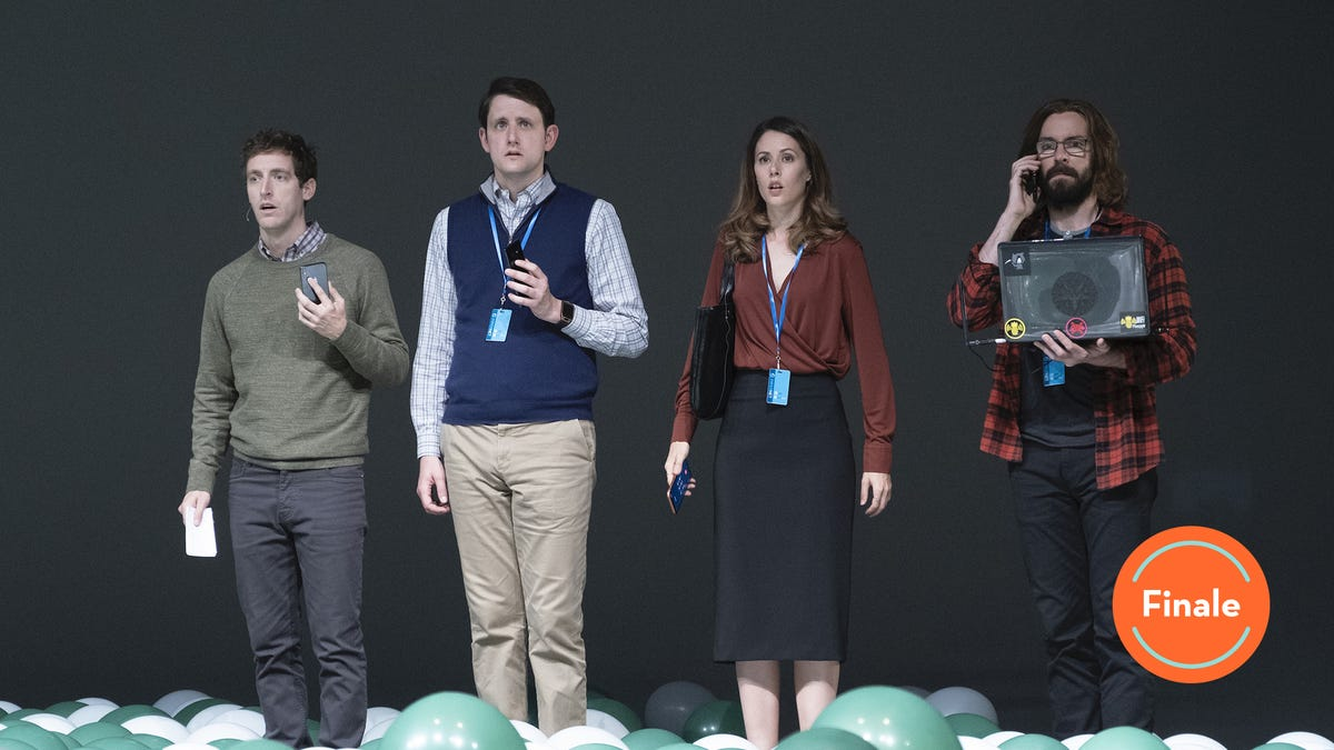 Silicon Valley goes big and goes home in a dark, funny, wistful series finale