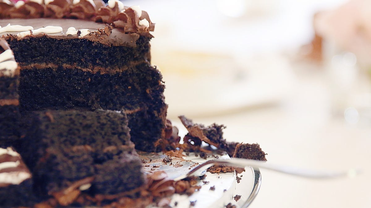 How many ingredients do you need to make a great chocolate cake?