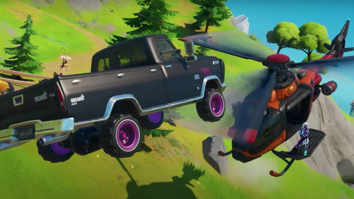 Here's How Fortnite's New Cars Work thumbnail