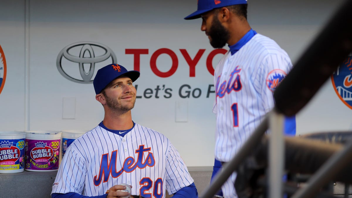 Pete Alonso Asks Teammates Whether They'd All Rather Sign Up For Volleyball This Year - the onion