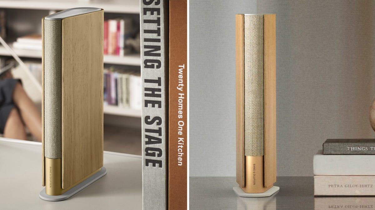 Bang & Olufsen's Book-Shaped Bookshelf Speaker Will Disappear Into a Shelf Full of Books thumbnail