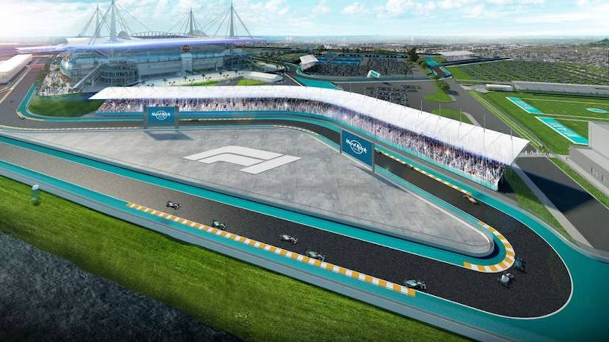 F1 Strikes Preliminary Deal To Hold 2021 Race At Miami