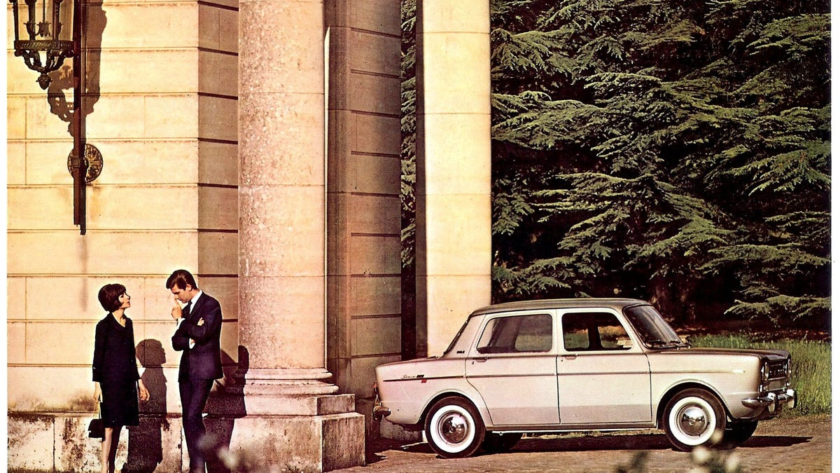 There's a country in Central Europe where the Simca 1000 was the best-selling car and the most popul
