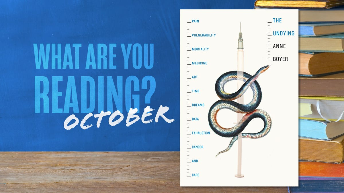 What are you reading in October?