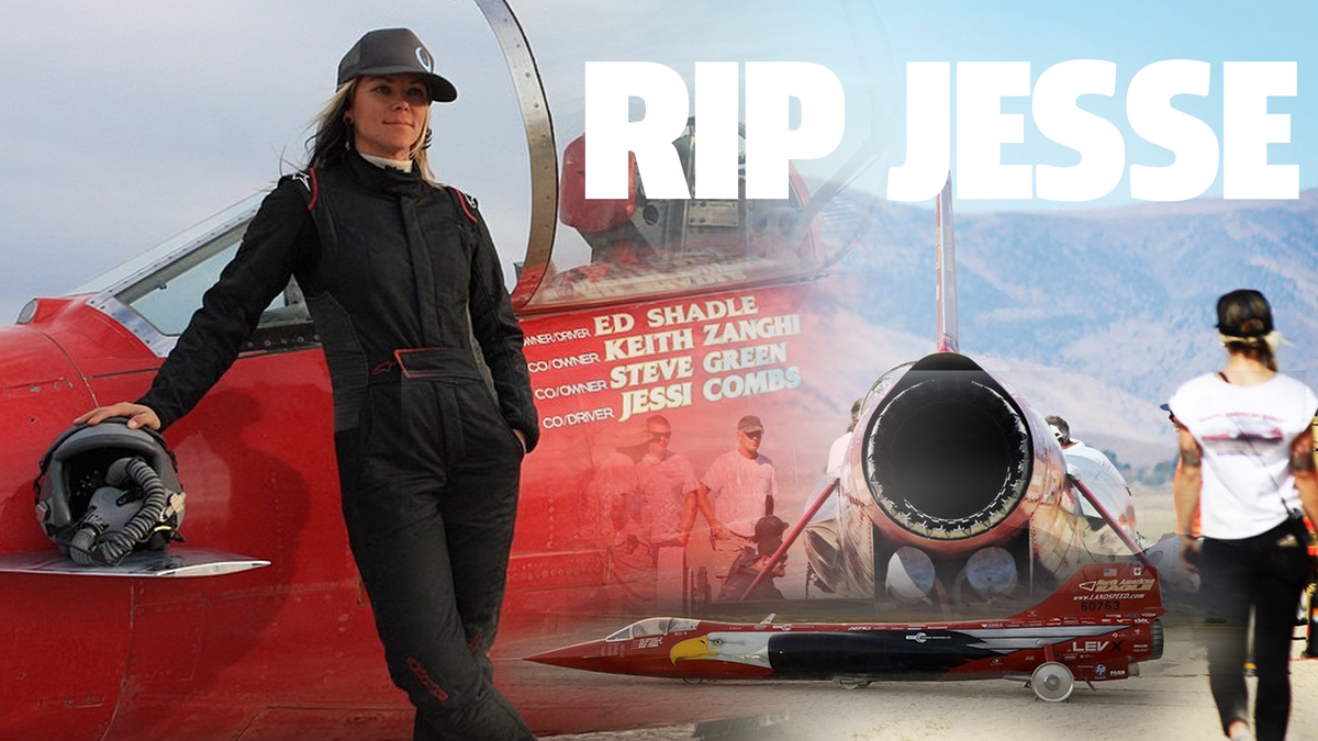 Jessi Combs' Jet Car Wreck Blamed On Wheel Failure At 550 MPH