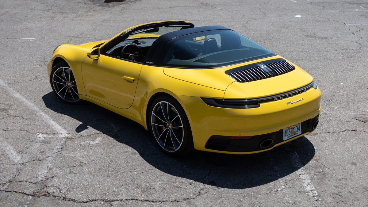 The 911 Targa Is Cool If You Drive Your Porsche Like A Mercedes