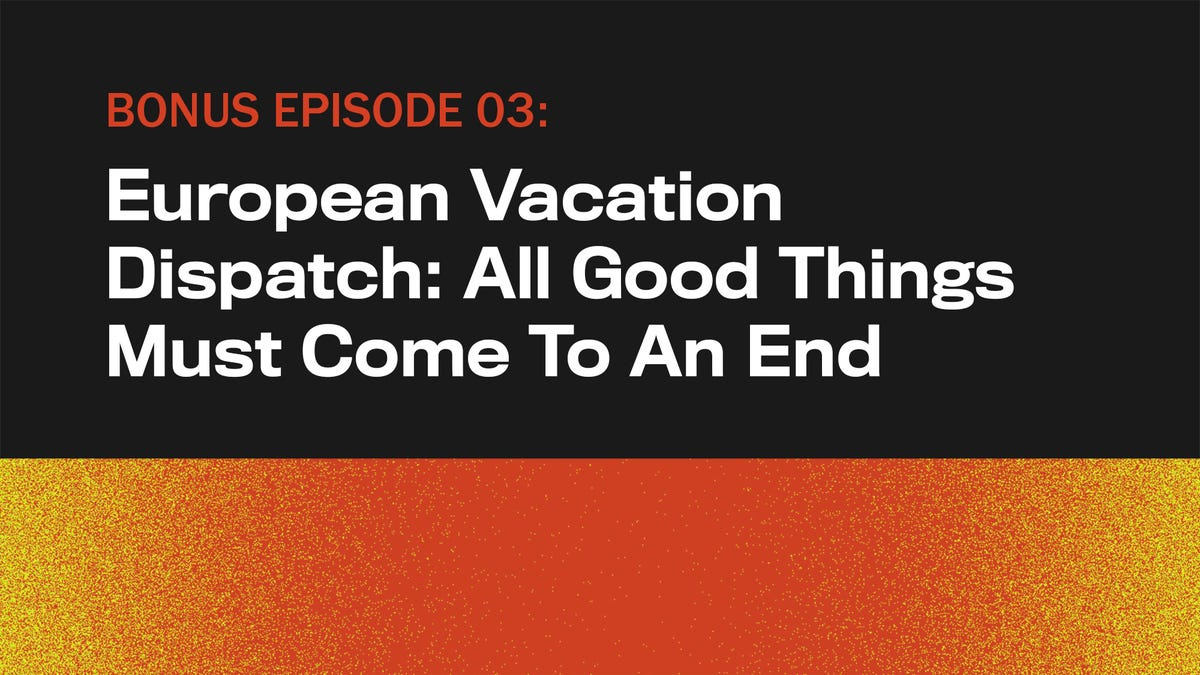 European Vacation Dispatch: All Good Things Must Come To An End - the onion