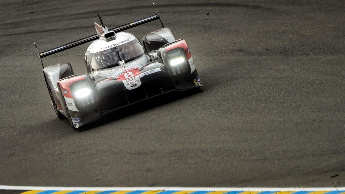 No. 8 Toyota Wins The 24 Hours of Le Mans After Final Half Hour Safety Car