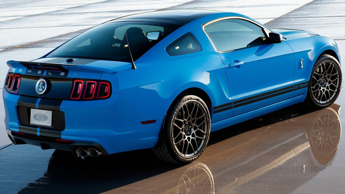 The Last Live-Axle Shelby GT500 Is Gnarlier Than Any New Ford Mustang