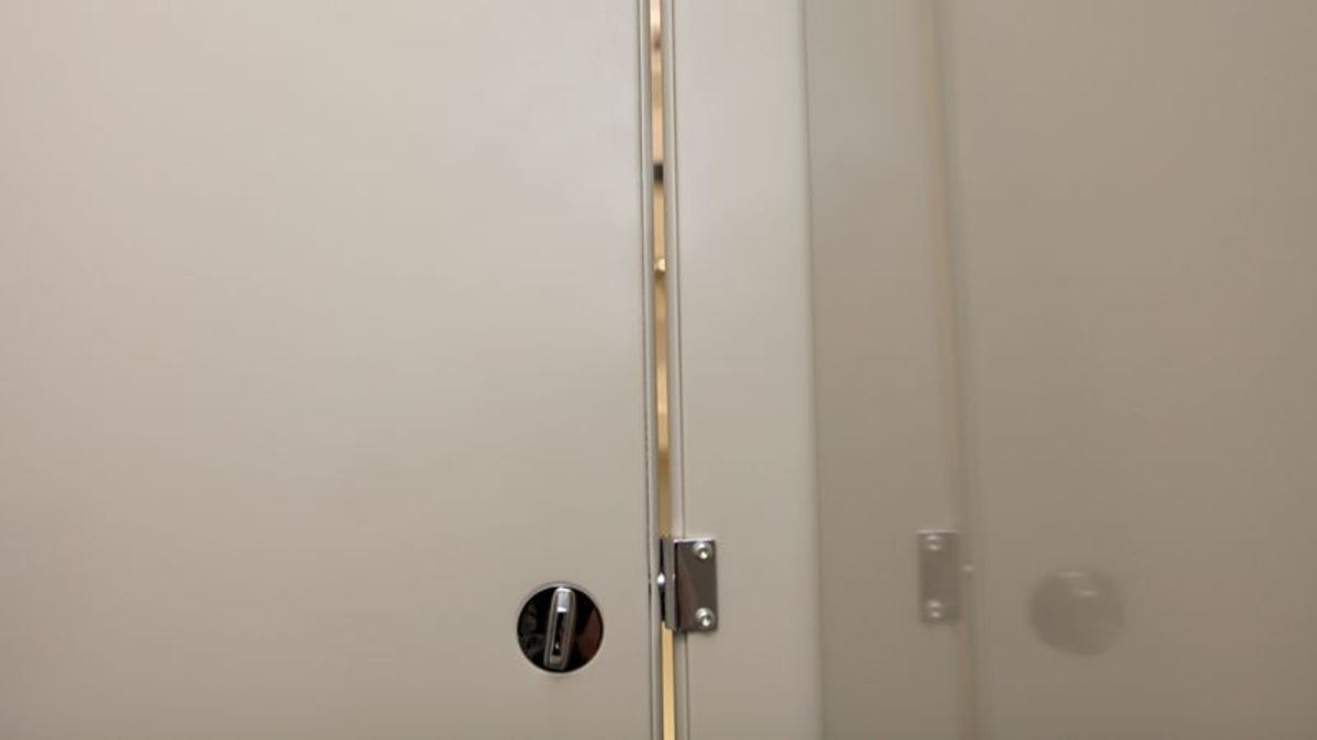Narrow Gaps In Bathroom Stall Doors To Be Widened Monday