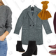 Another Influence Longline Sherpa Coat in Black | $42 | ASOSSilver Street Chelsea Boots in Burgundy Leather | $43 | ASOSOnly Lally Boucle Wool Coat in Green | $63 | ASOS