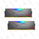 XPG SPECTRIX DT50 RGB PC Memory: 32GB (2x16GB) DDR4 | $130 | Newegg