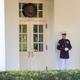 guard outside white house