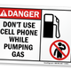 Illustration for article titled Lets Settle These Gas Pumping Questions: Is It Safe To Refill With The Engine On Or While Using A Cellphone?