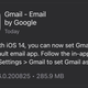 Illustration for article titled How to Use Gmail as Your Default Mail App in iOS 14