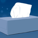 illustration of a person hiding behind a big tissue box
