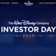 Screengrab of Disney Investor Day landing page