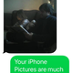 My mother-in-law was not impressed with the Nokia's photos