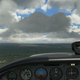 """Flying towards Peter Prince Airport aka """"Milton"""" (2R4), just outside of Pensacola in the Florida Panhandle"""