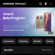 Illustration for article titled How to Sign Up for Samsungs Android 11 / One UI 3 Beta