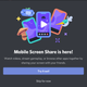 Illustration for article titled You Can Now Share Your Smartphone Screen in the Discord App