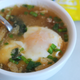 Illustration for article titled Poach an Egg in Instant Miso for a Quick, Savory Breakfast