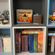 Shelves don't only have to hold useful stuff, they can have other things too. My wife and I like to display Legos and other memorabilia on them along with books and such.