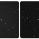 The parallax view of Wolf 359. The New Horizons image is on the left.