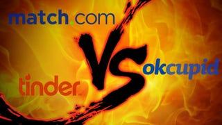 Online Dating Showdown  Match com vs  Tinder vs  OkCupid Lifehacker