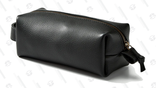 Flint and Tinder Full-Grain Leather Dopp Kit