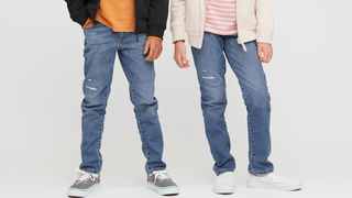 Kids Ultra Stretch Denim Slim Fit Pants