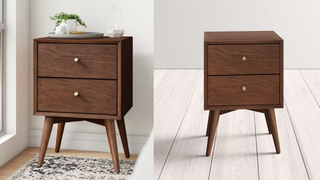 Williams Two-Drawer Nightstand