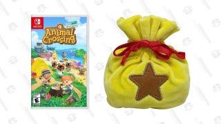 Animal Crossing: New Horizons w/ Bell Bag