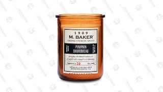 M. Baker Pumpkin Shortbread Jar Candle