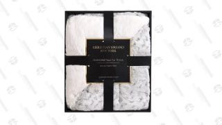 Snow Leopard Gift Boxed Throw