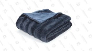 Caston Soft Faux Fur Throw
