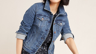 Pilcro Classic Denim Jacket