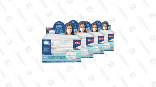 Individually Wrapped 3-Ply Disposable Masks (200-Pack)