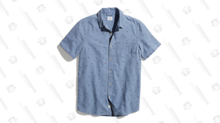 Marine Layer Diver Dave Button Down Shirt