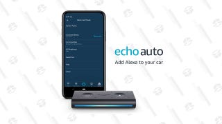 Echo Auto + 6 Free Months of Amazon Music Unlimited