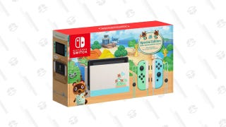Nintendo Switch - Animal Crossing: New Horizons Edition (Refurbished)