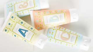 Springtime Monogram Hand Cream