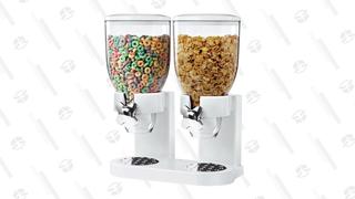 Zevro Double Cereal Dispenser