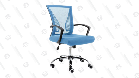 Hashtag Home Halverson Ergonomic Mesh Task Chair