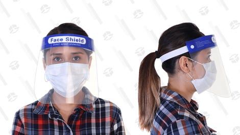 10-Pack: Reusable Face Shields
