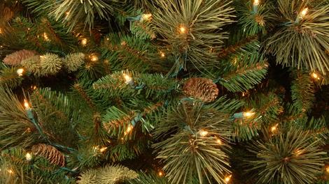 Carolina Pine Green Artificial Christmas Tree w/ Lights