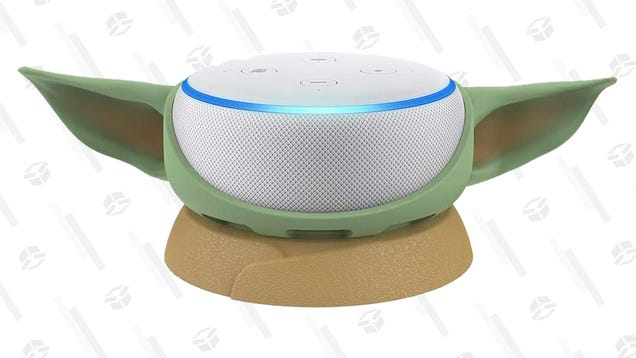 Support Baby Yoda Echo Dot 3e génération